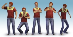 Artpic of the game The Sims 3