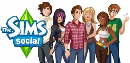 Artpic of the game The Sims Social