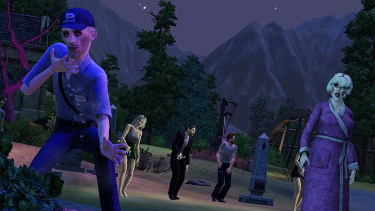 Sims 3 Université datant