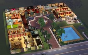 T l chargement gratuit de la cr ation sims maison de luxe maison for Maison moderne de luxe sims 3