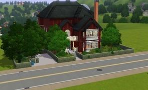 T l chargement gratuit de la cr ation sims manoir for Construire une maison sims 3 xbox 360