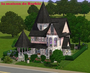 T l chargement gratuit de la cr ation sims la maison de barbie 2 maison for Maison moderne de luxe sims 3