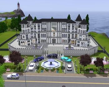 T l chargement gratuit de la cr ation sims le royal maison for Maison moderne de luxe sims 3