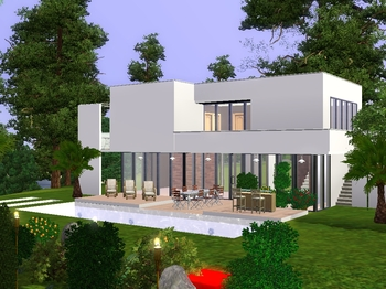 t l chargement gratuit de cr ations sims maisons. Black Bedroom Furniture Sets. Home Design Ideas